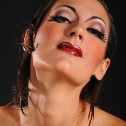 Maquillage Cabaret Yvette Faustino